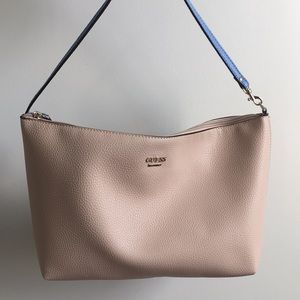 Guess Pebbled Leather Tote Bag